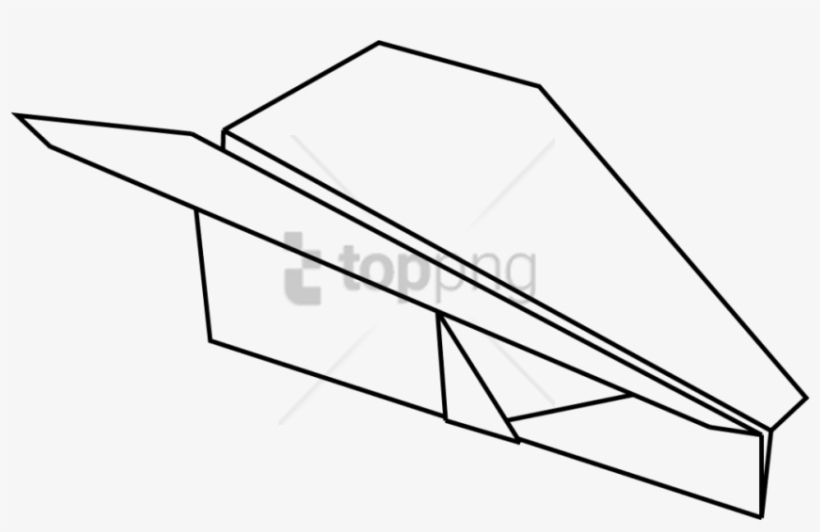 Free Png Diagram Of A Paper Airplane Png Image With Paper Plane