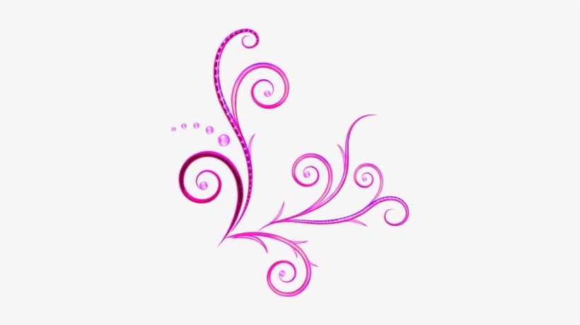 Arabesco Png Arabesco De Canto Rosa Png 336x380 Png Download