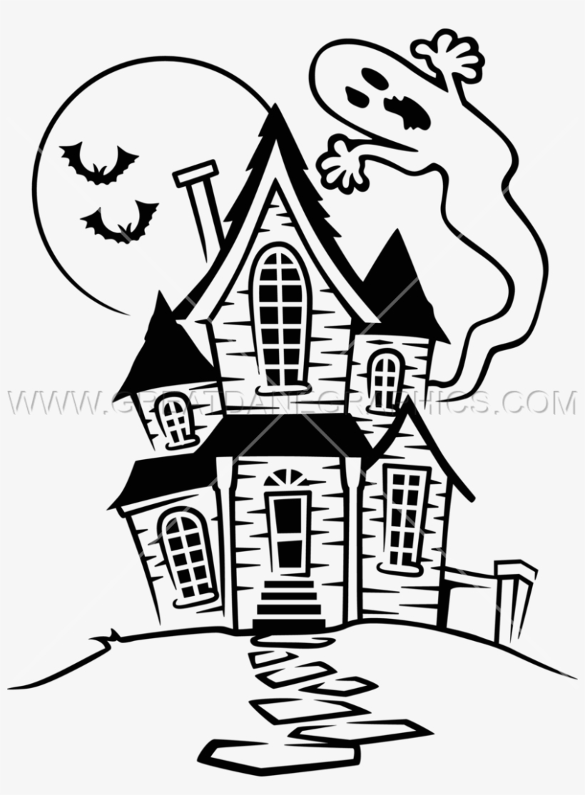Halloween Spooky House Drawing.Haunted House Drawing At Getdrawings Haunted House Drawing