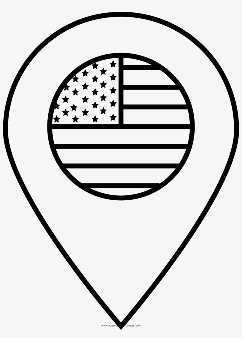 Bandera De Estados Unidos Página Para Colorear Top Of Bbq Grill