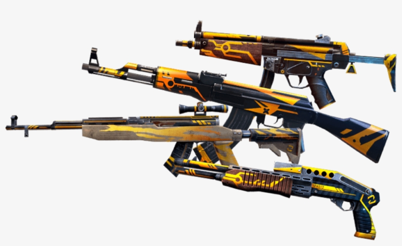 Freefire Garena Free Fire Gun Arma Bee Ranged Weapon