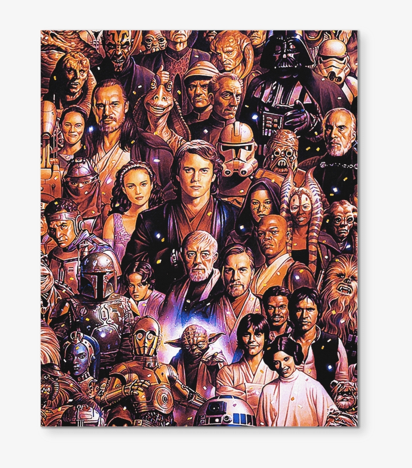 Star Wars Characters Art Star Wars Background All Characters