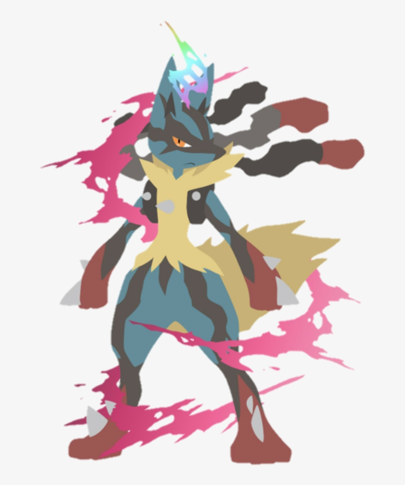 Pokemon Lucario Mega Lucario Wallpaper Iphone 1024x1024 Png Download Pngkit
