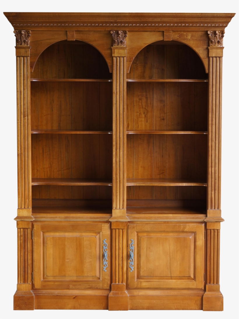 Jpg Free Ethan Allen Legacy Double Arch Library Bookcase