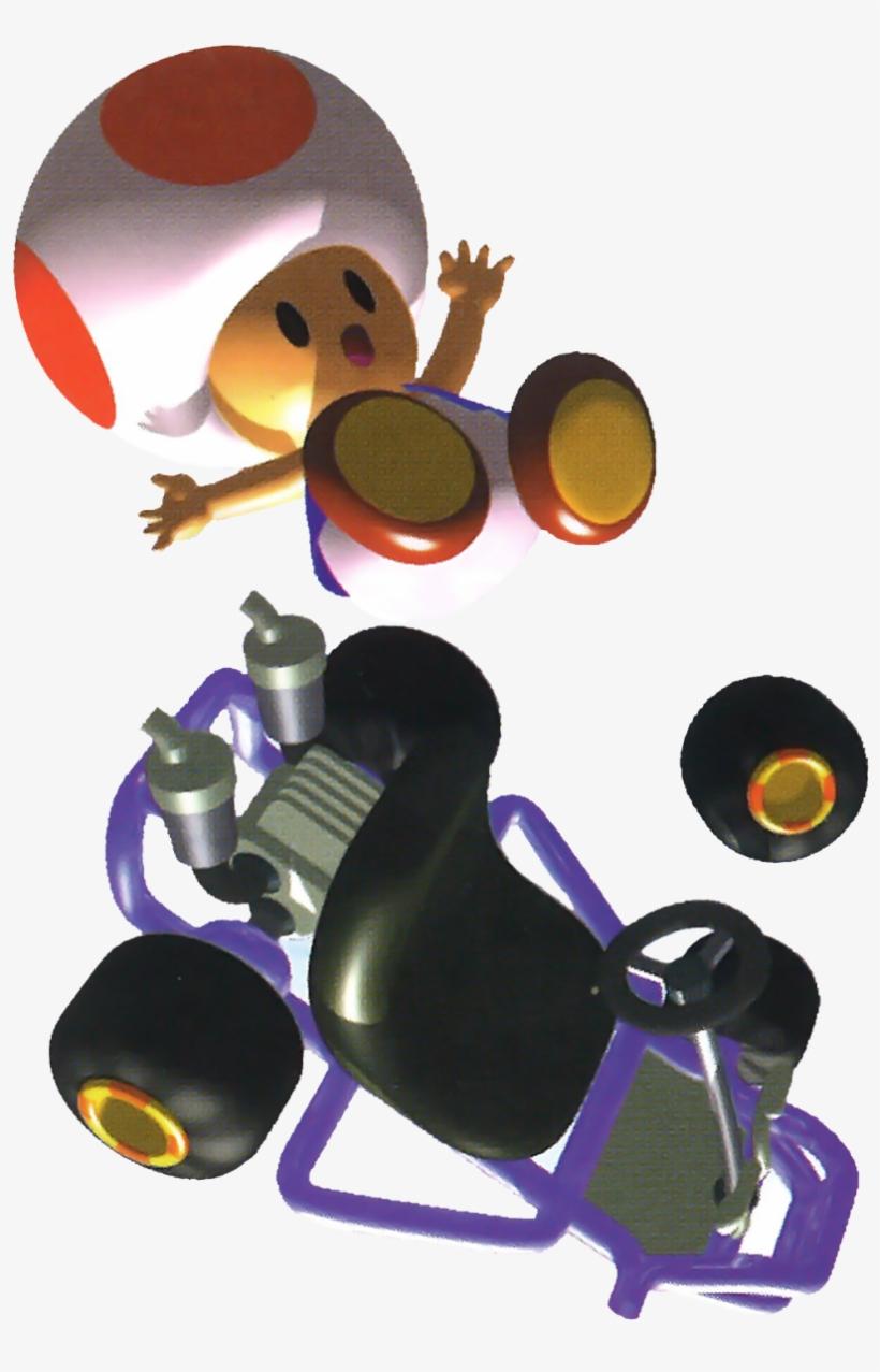 Luigi Yoshi And Toad From Mario Kart Mario Kart 64 Kart