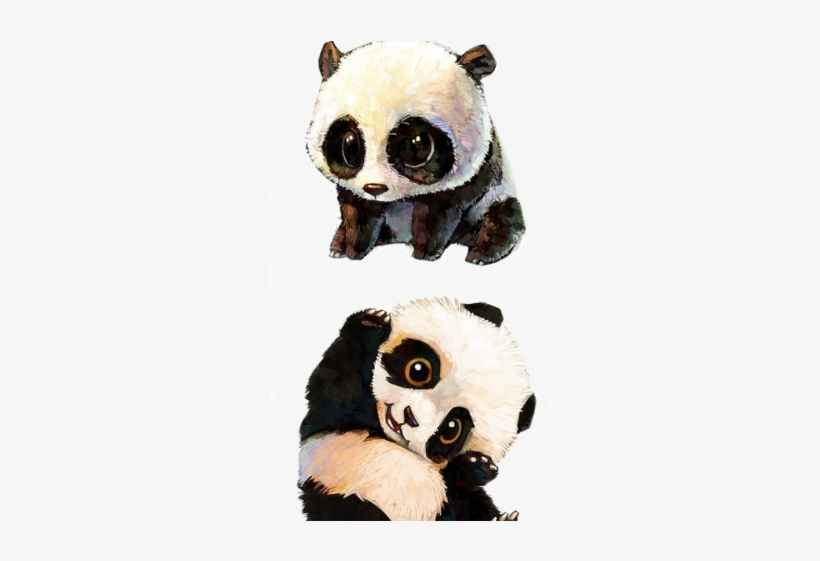 Drawn Grape Panda Cute Baby Panda Drawing 640x480 Png Download Pngkit