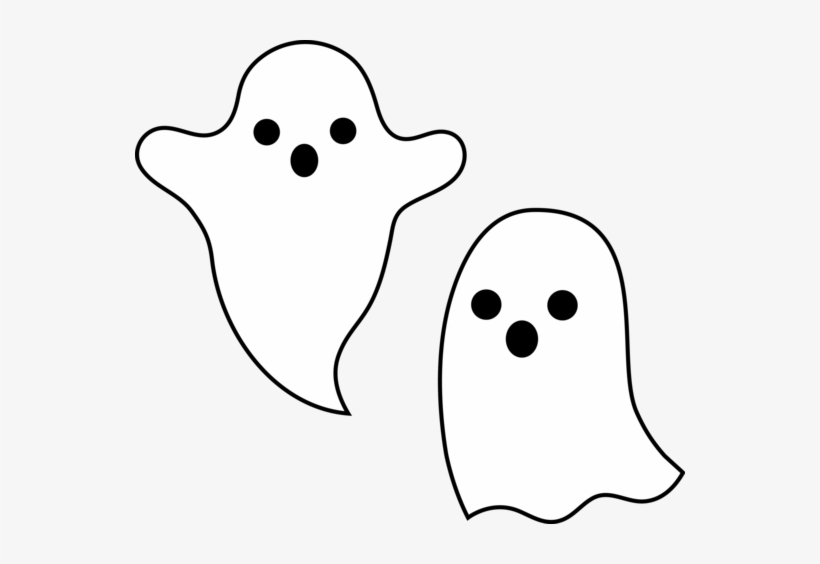 Spooky Halloween Clipart Ghost 550x484 Png Download Pngkit