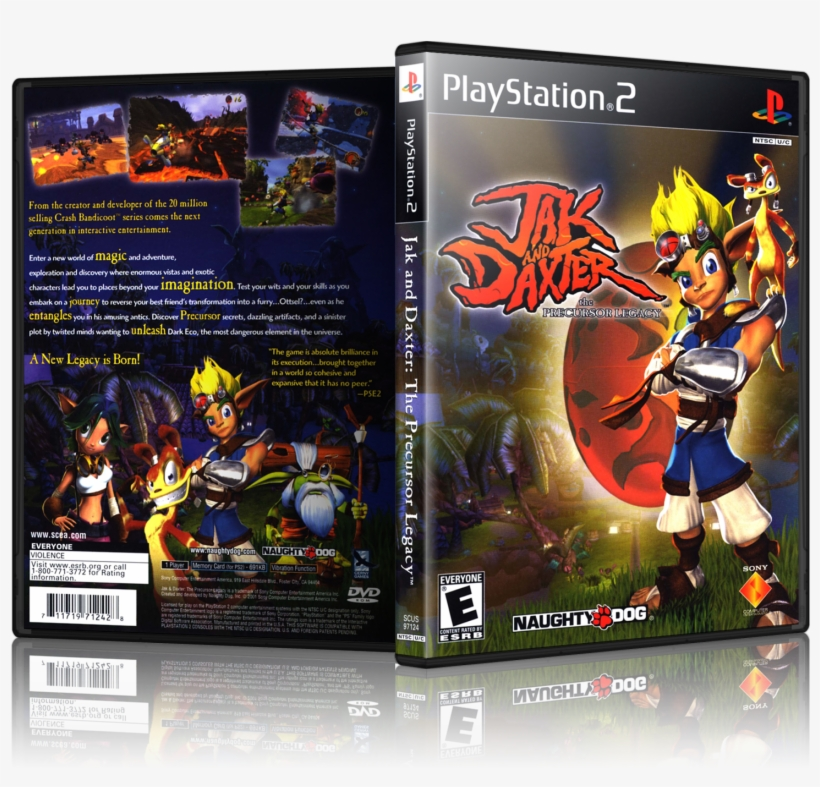 jak and daxter ps2 games
