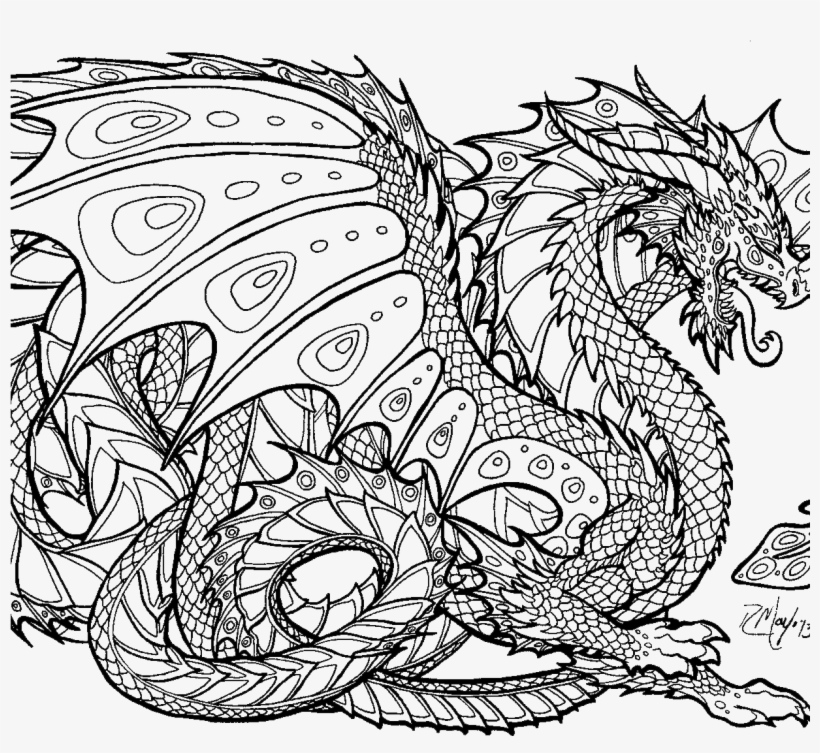 Announcing Realisticgon Coloring Pages With Astounding Hard Coloring Pages Of Dragons 1224x1136 Png Download Pngkit