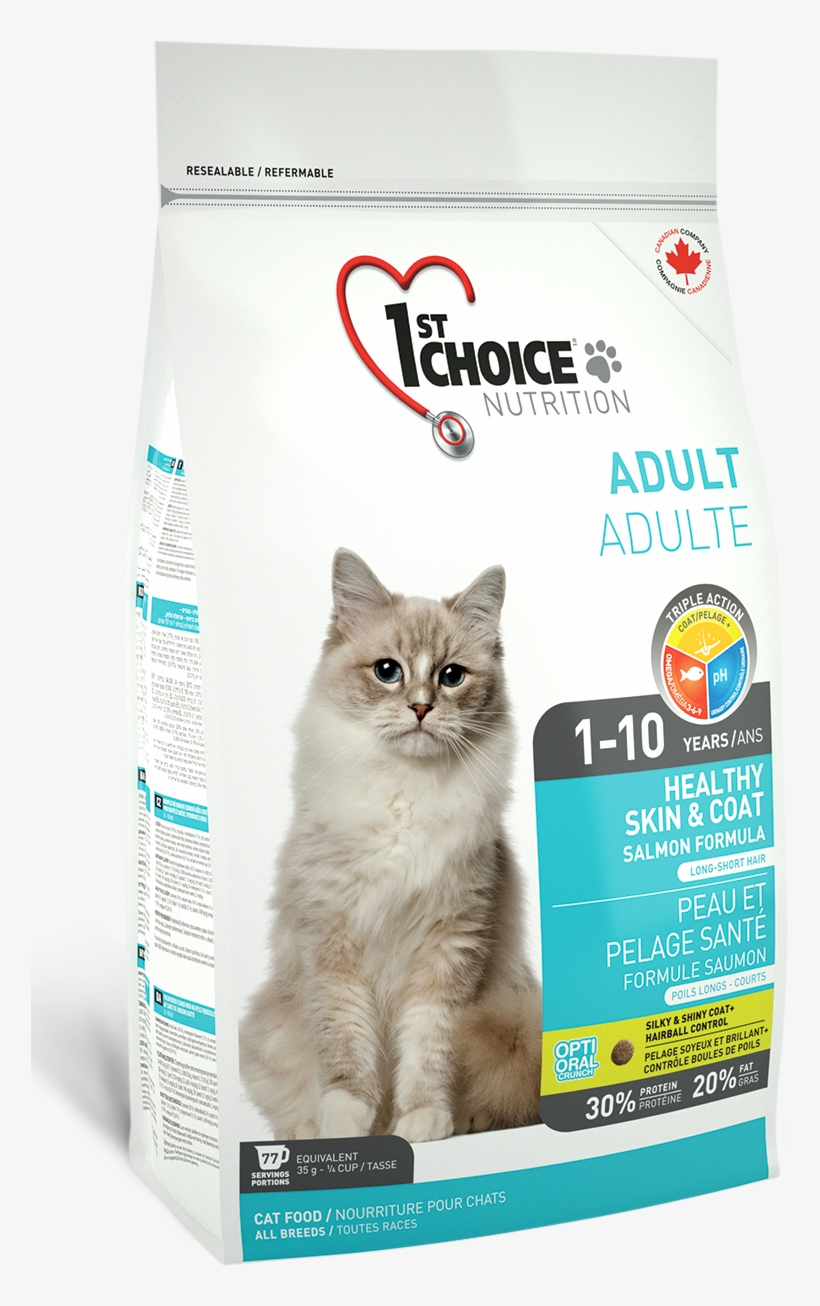 1st Choice Dry Cat Food Review 1st Choice Healthy Skin Coat 757x1226 Png Download Pngkit