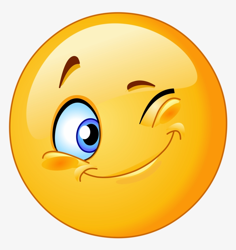 Smiley Face Emoticon Png - Emoji Shy And Happy Face