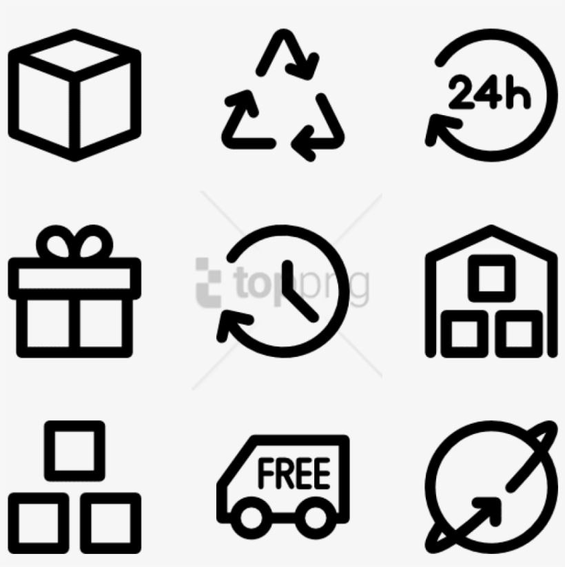 Free Png Logistic Delivery Icon Collection Home Icon Pack Png 850x812 Png Download Pngkit