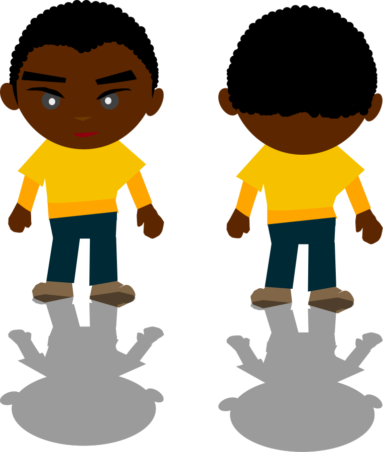 African American Animated Family Clipart , Png Download - African American  Family Clipart, Transparent Png - vhv