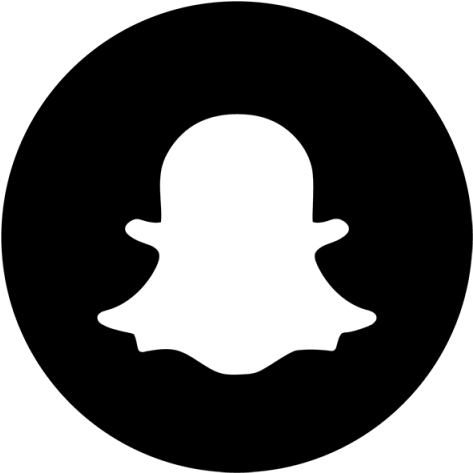 Download Snapchat Black & White Icon, Snapchat, Snap, Chat ...