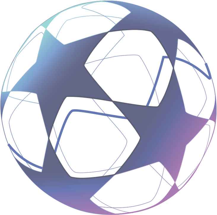Download Uefa Champions League - Football Ball Stars - Full Size PNG Image - PNGkit