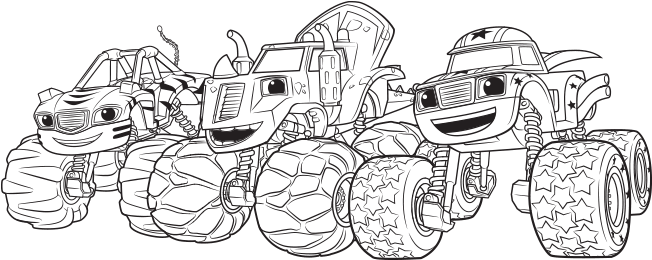 Download Transparent Top 31 Blaze And The Monster Machines ...