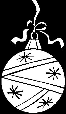 Download Dibujo De Una Bola De Navidad Para Colorear Esfera De