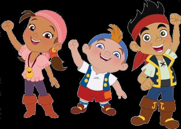 Pirate Clipart Pirate Crew - Disney Junior Pirate Show (628x461), Png Download
