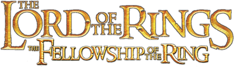 download the fellowship of the ring movie png logo lord of the rings logo png full size png image pngkit rings logo png