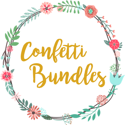 Download Confetti Love Bundles Logo Watercolour Christmas Wreath