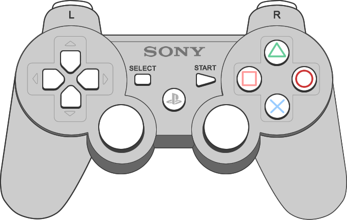 Download Drawn Controller Psp Controller Game Console Drawing Full Size Png Image Pngkit