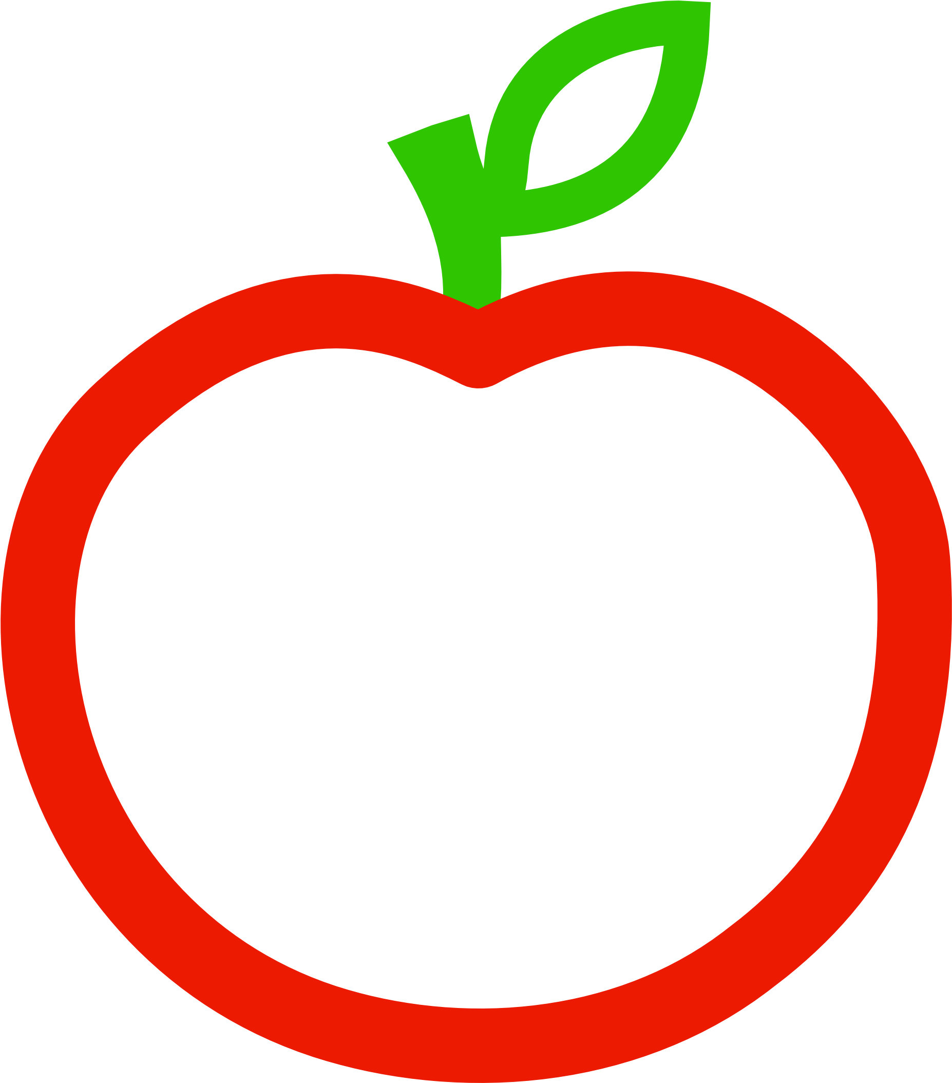 Download Free Apple Png Clipart Apple Clipart Red And White Full Size Png Image Pngkit