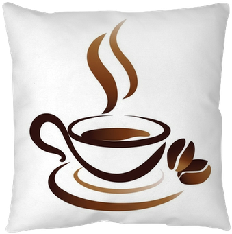 Download Vector Sketch Of Coffee Cup Icon Throw Pillow Pixers Coffee Cup Icon Full Size Png Image Pngkit