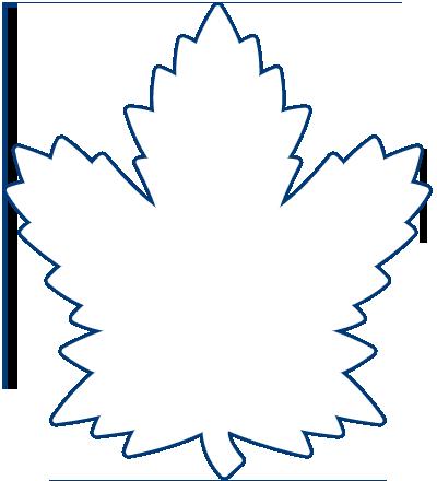 Download Hide Logo Outline Logo Draw Toronto Maple Leafs Logo Full Size Png Image Pngkit