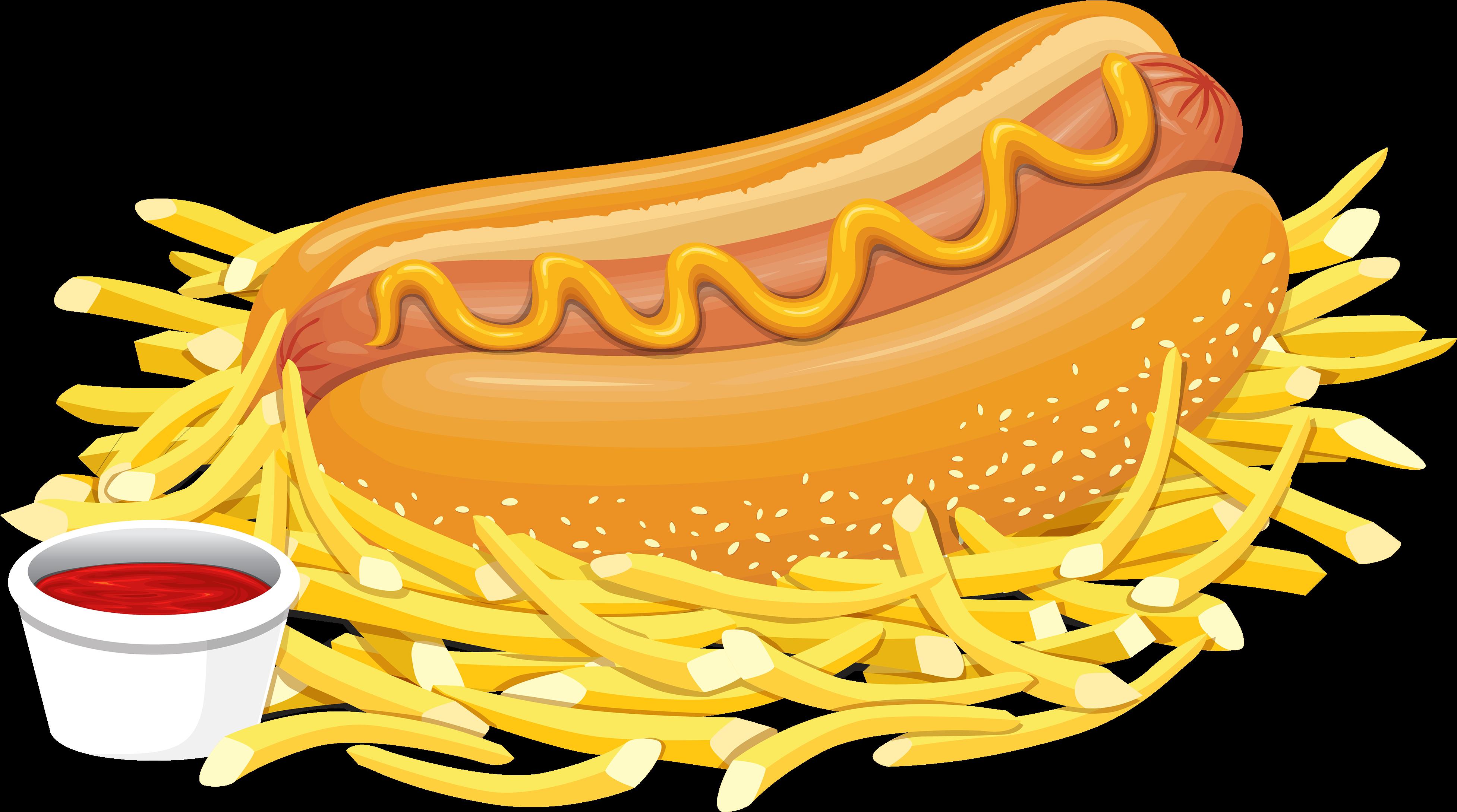 Fast food vector | Food drawing, Fast food, Food wallpaper