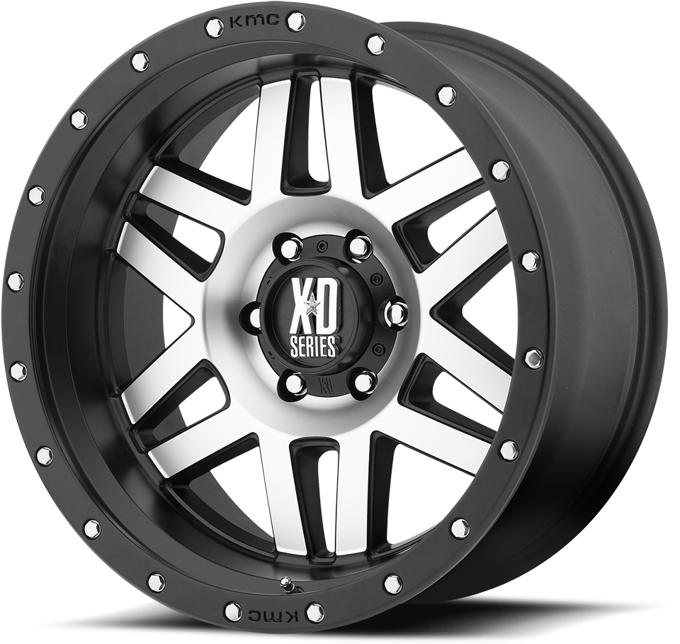 Download Machined Face W Black Ring Kmc Xd Series Wheels Full