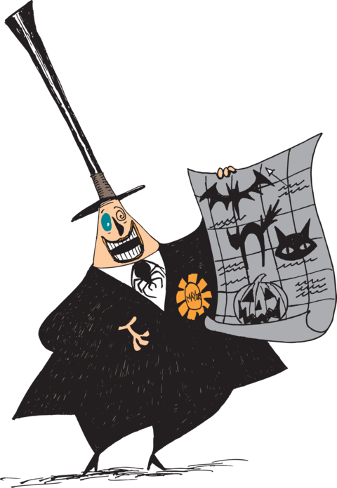 Download Image Freeuse Drawing Christmas Nightmare Before Nightmare Before Christmas Sticker Book Full Size Png Image Pngkit