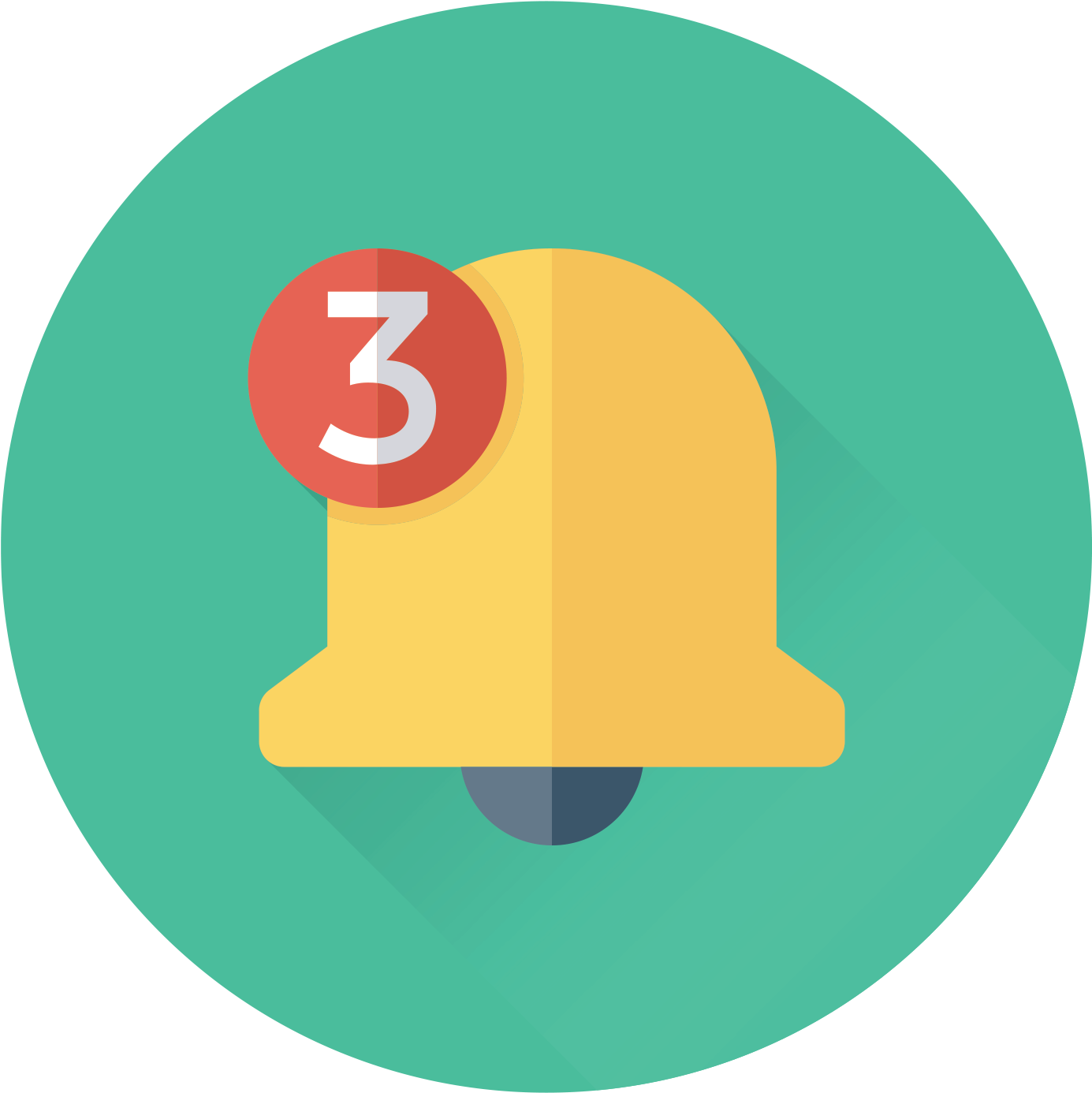 Download Free Reminder Icon Png - Mobile Notifications Icon