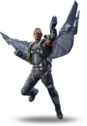 Download Marvel Falcon Png - Marvel Heroes Omega Falcon