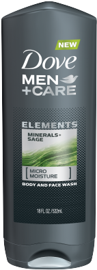 Download Dove Men Care Elements Minerals Sage Body Wash 18 Oz Dove Charcoal Body Wash Full Size Png Image Pngkit