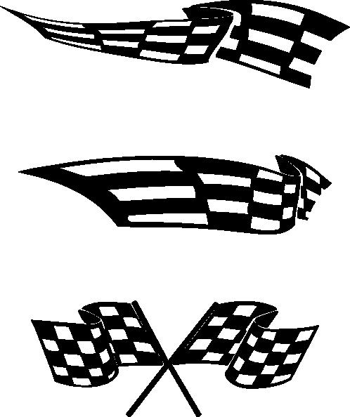 Chequered Flag Clip Art at Clker.com - vector clip art online, royalty free  & public domain