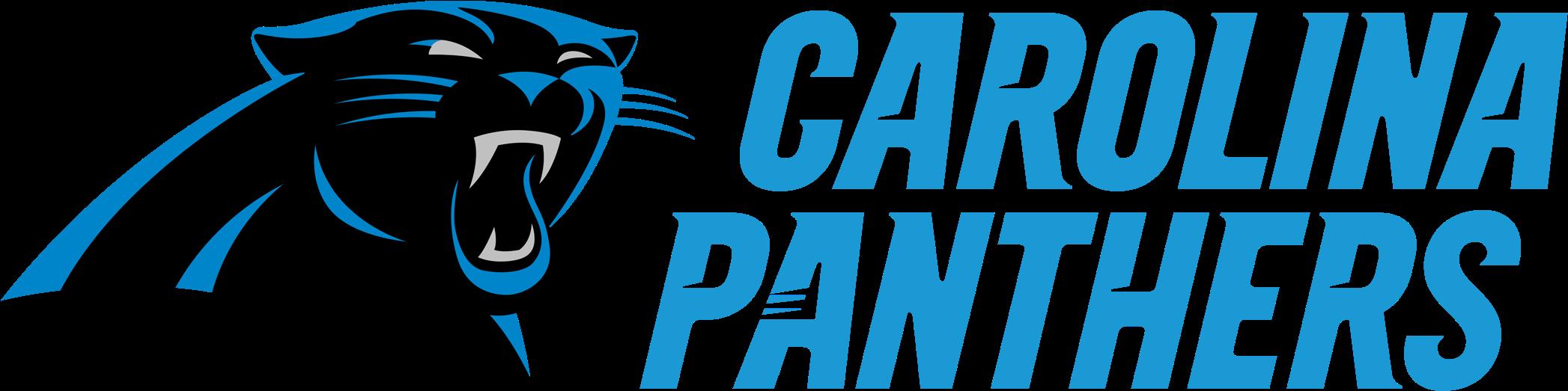 transparent carolina panthers logo png