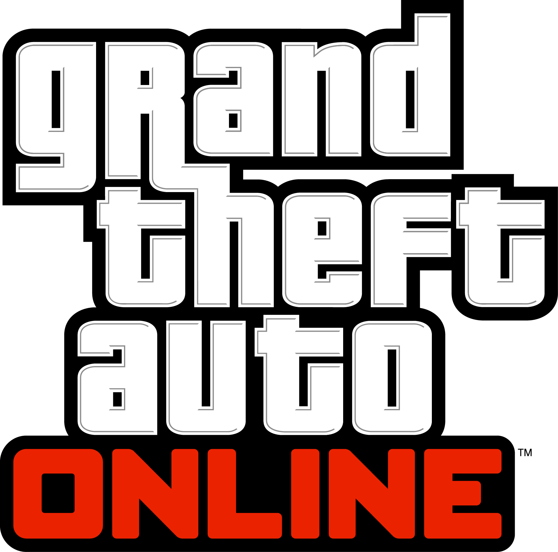 Download Grand Theft Auto Online Logo Grand Theft Auto V Ps3 Game Full Size Png Image Pngkit