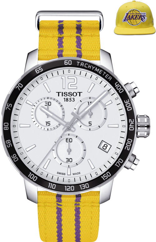 Download Los Angeles Lakers Logo Png Tissot Lakers Watch