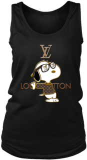63f5e0e4409b Snoopy Louis Vuitton Joe Cool Women's Tank Tops T Shirt - Louis Vuitton  (394x394)