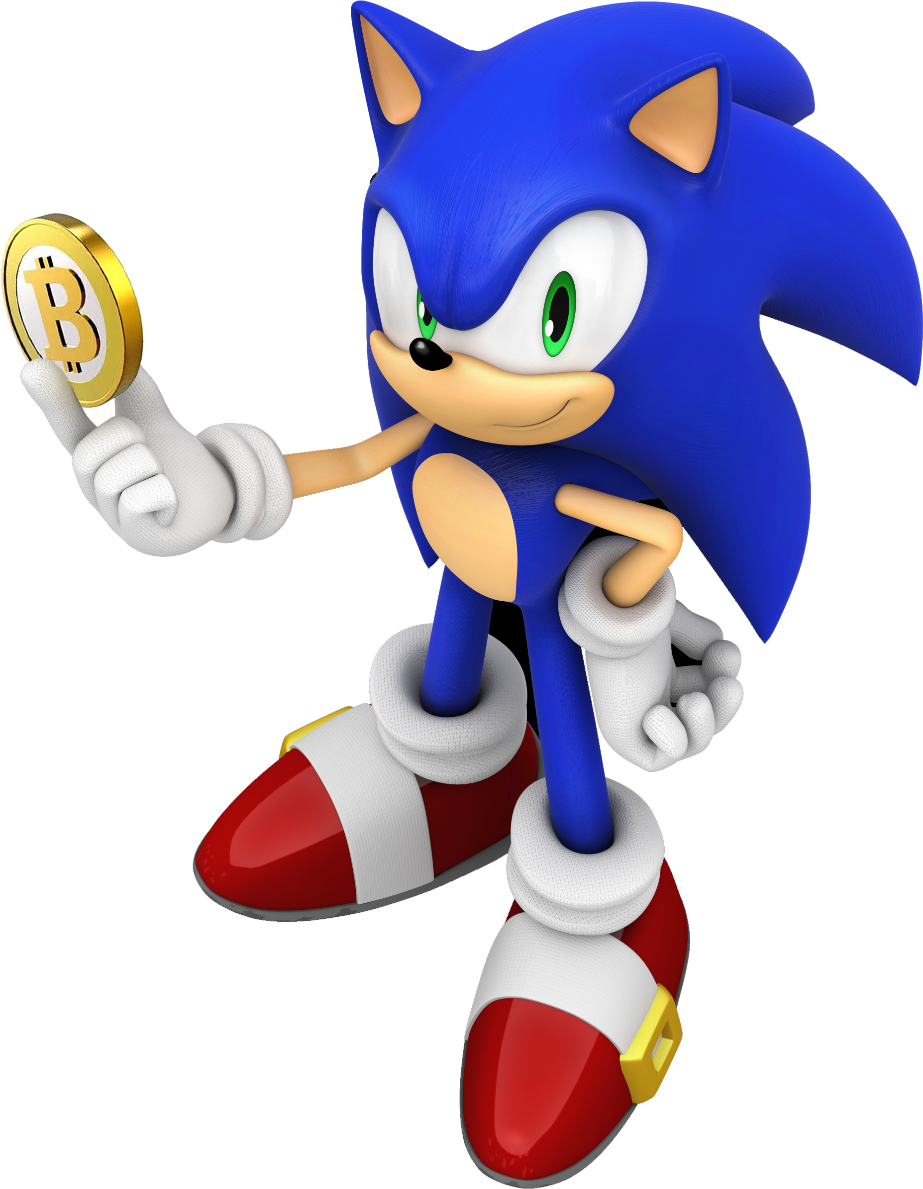 Download Sanic Sonic The Hedgehog Render Full Size Png Image Pngkit