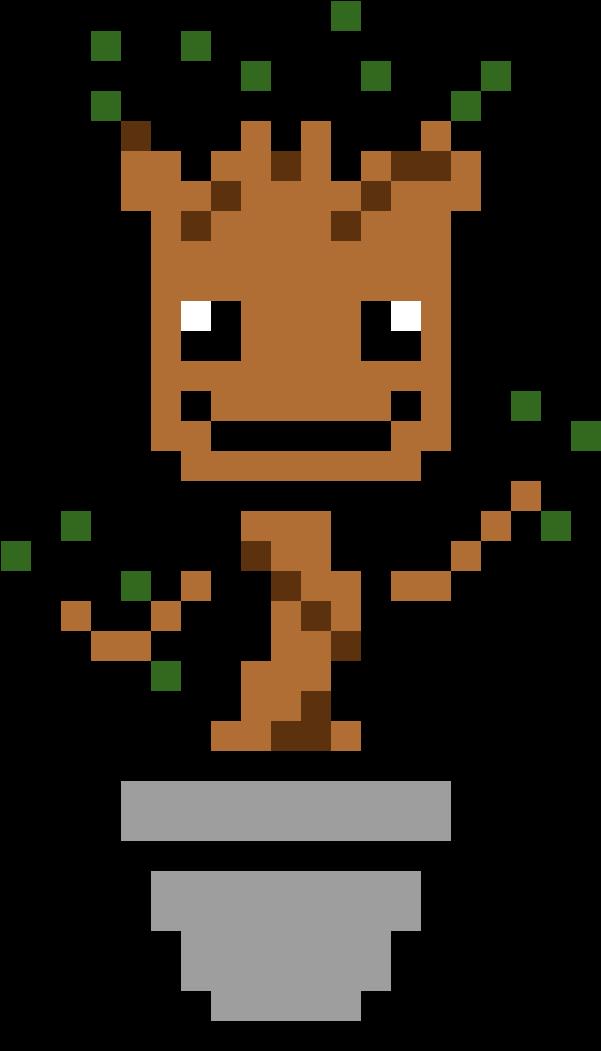 Best Of Minecraft Grid Art @KoolGadgetz.com