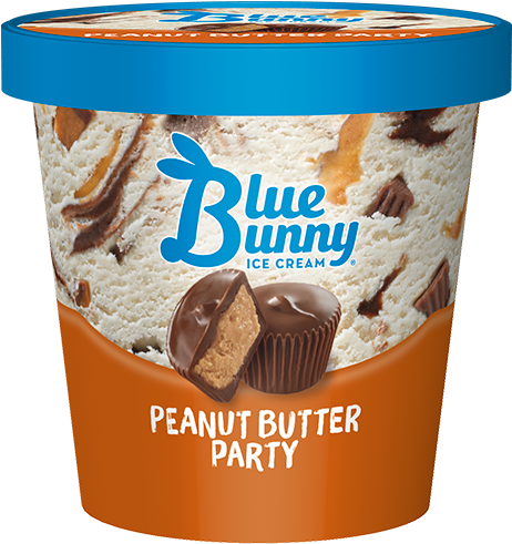 Download Blue Bunny Ice Cream, Butter Pecan - 48 Fl Oz - Full Size
