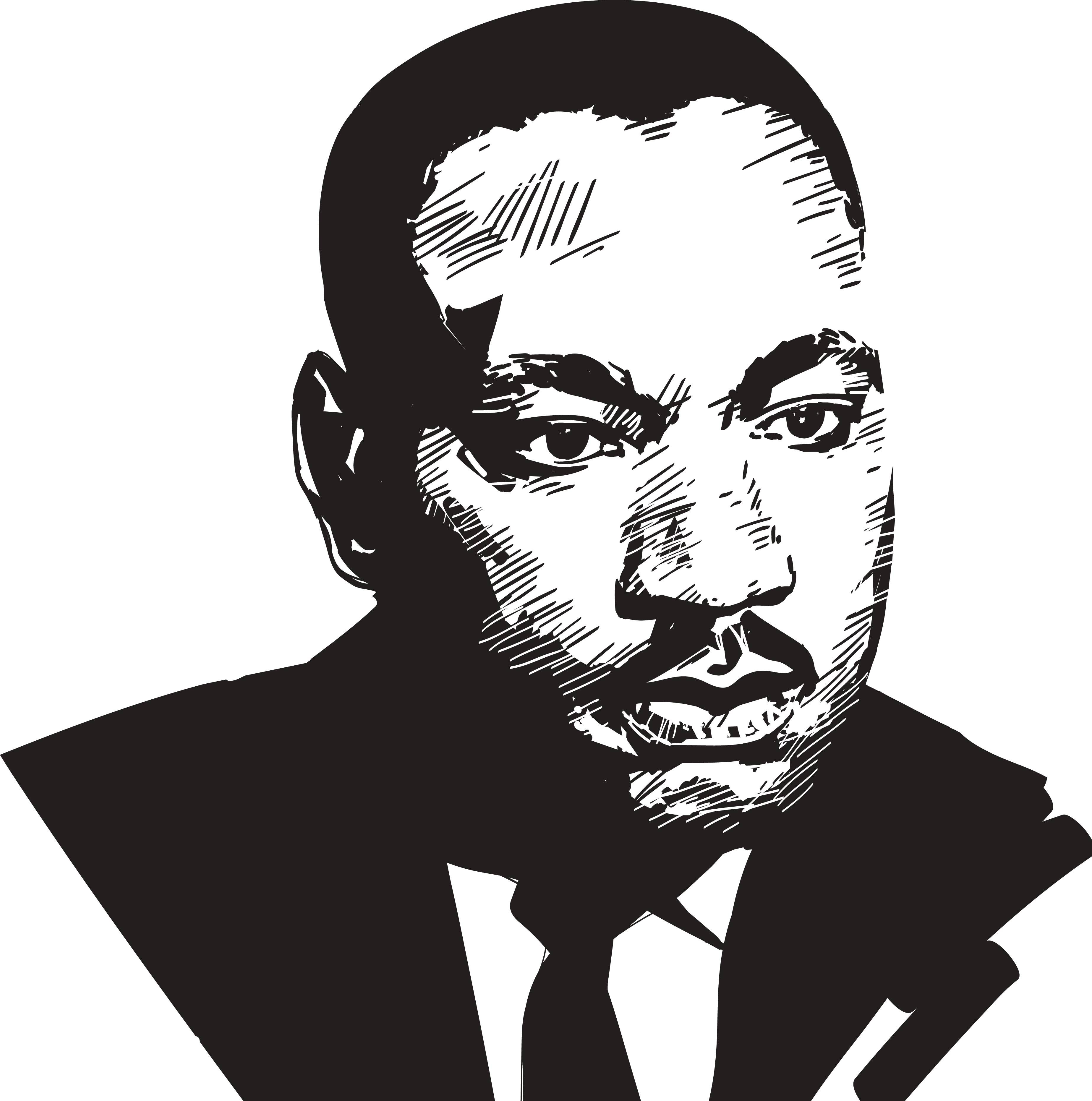 Martin Luther King Png Transparent ~ news word