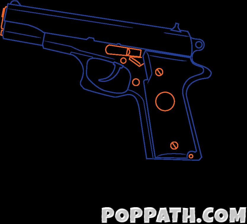 Download Image Transparent 1911 Vector Drawing Sketch Full Size Png Image Pngkit