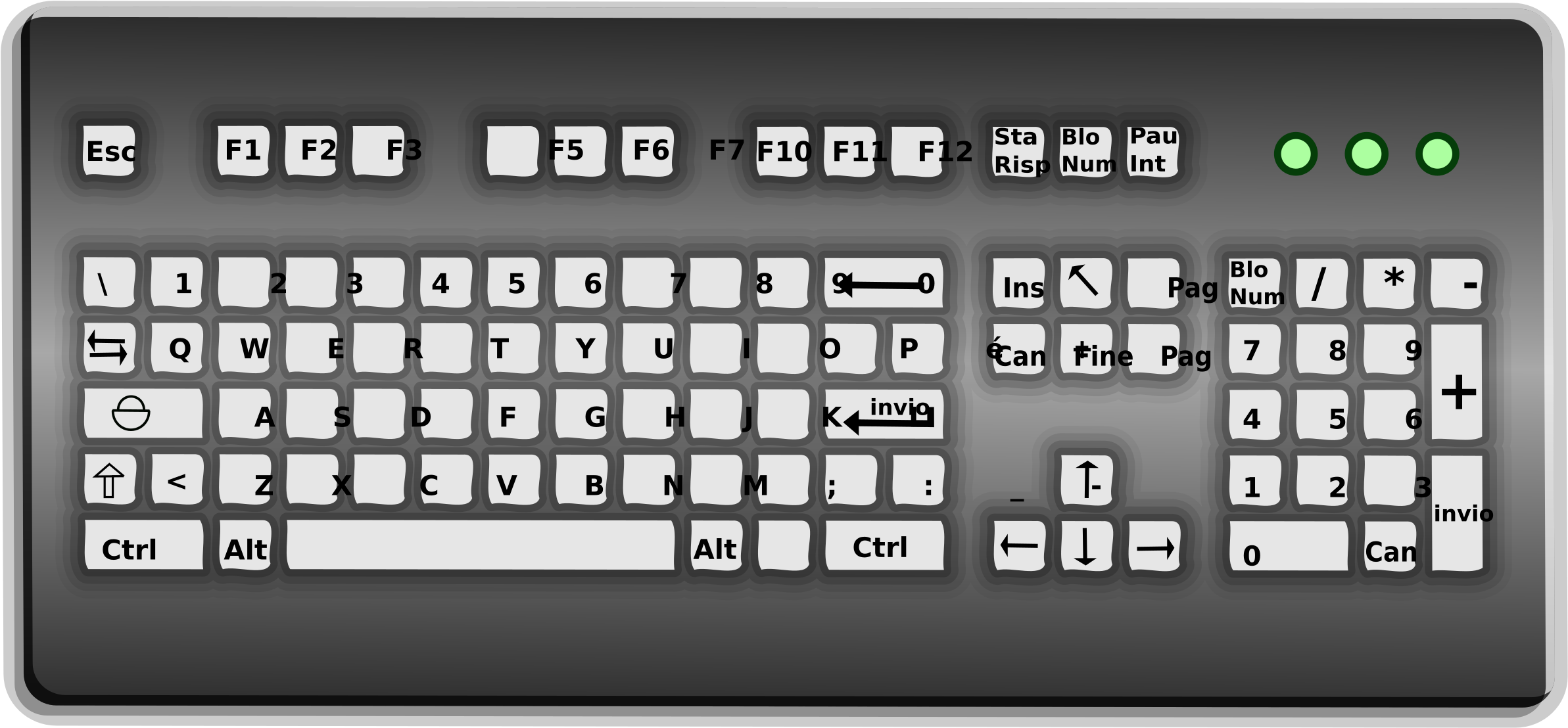 Download Keyboard Graphic Library Download Computer Keyboard Full Size Png Image Pngkit