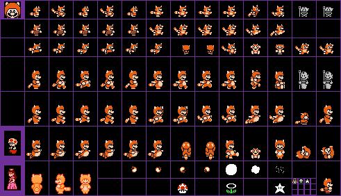 Download Small Raccoon Mario Super Mario Bros 3 Luigi Sprites
