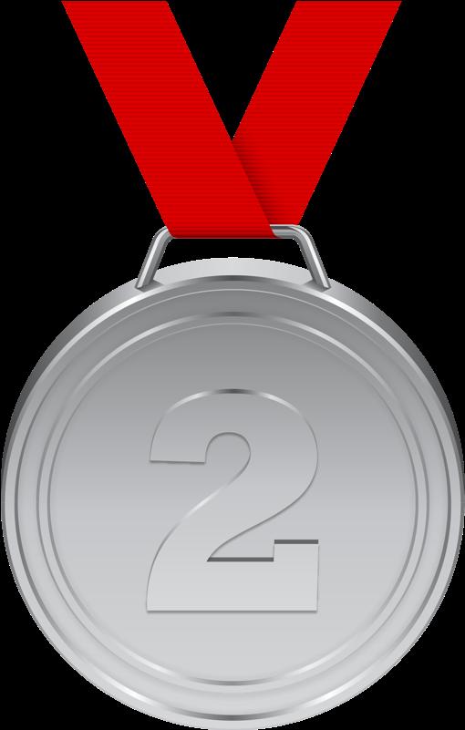 Silver Medal PNG Transparent Images   PNG All
