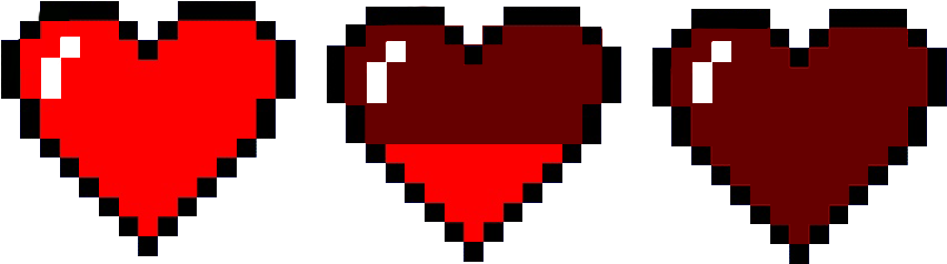 Download Heart Pixel Png - Pixel Heart - Full Size PNG ...