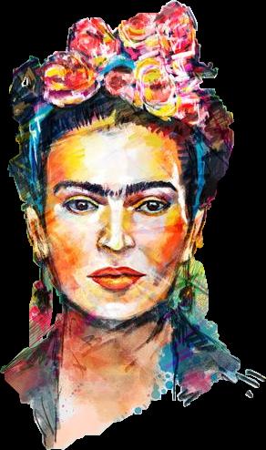 Download Frida Kahlo - Full Size PNG Image - PNGkit