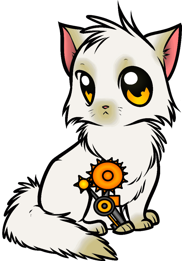 Download Steampunk Cat Drawings Cute Kitten Colouring Pages Full Size Png Image Pngkit
